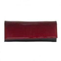 Clutch-tasche, Luxus, Rot, leder
