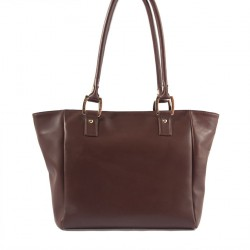 Handtasche, Lisetta Braun, leder