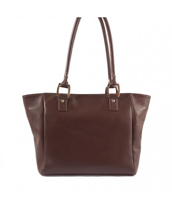 Hand bag, Lisetta Brown, leather