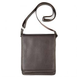 Shoulder bag, Ambrose Brown, genuine leather