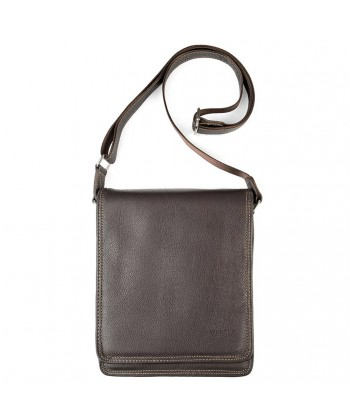 Shoulder bag, Ambrose Brown, genuine leather