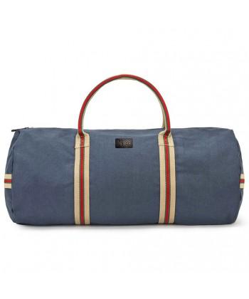 Handtasche, Hermes, Blau, stoff