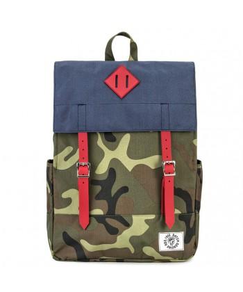 Tasche, rucksack, Donatella Blau, stoff