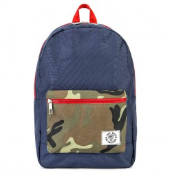 Tasche, rucksack, Danilo Blau, stoff