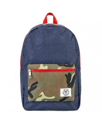 Bolsa mochila, Danilo, Azul, tela