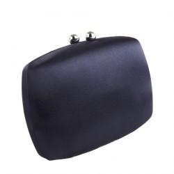 Borsa clutch, Marzia Blu, In raso