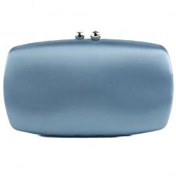 Clutch-tasche, Marzia Blau, satin