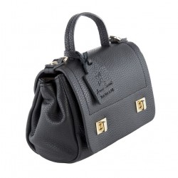 Shoulder bag, Gio Black, leather