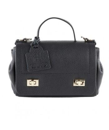 Shoulder bag, Gio Black, leather