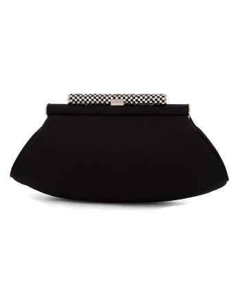 Bag clutch, Ruth Black, satin