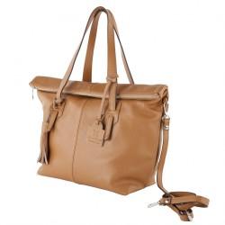 Handtasche, Flavia Braun, leder