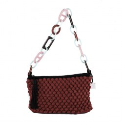 Shoulder bag, Glory Red, cotton