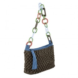 Shoulder bag, Gloria Brown, cotton