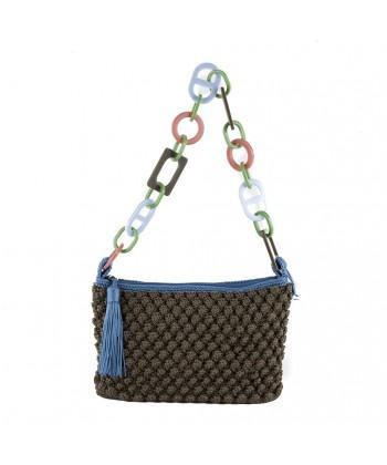 Shoulder bag, Gloria Brown, cotton