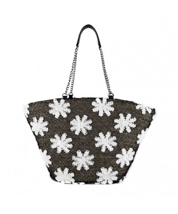 Hand bag, Ketti Brown, straw