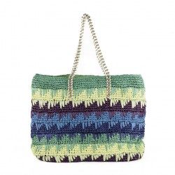Bolsa de ombreiro, Luciana Verde, algodón