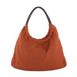 Borsa a tracolla, Milli Rossa, in cotone