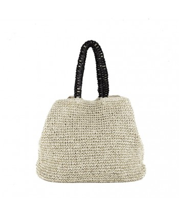 Bolso de hombro, Leonarda de color Beige, de algodón