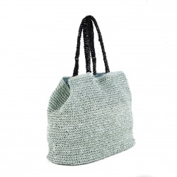 Bolsa de ombreiro, Popular Azul, algodón