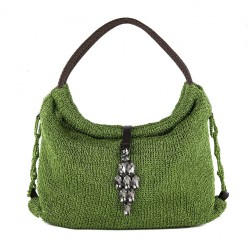 Bolso de hombro, Joanna Verde, algodón