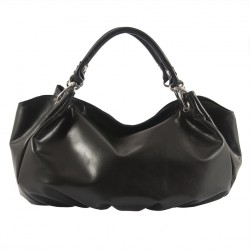 Shoulder bag, Mariot Black, leather