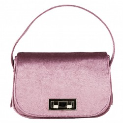 Hand bag, Belina purple, velvet
