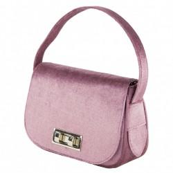 Handtasche, Belina lila, samt