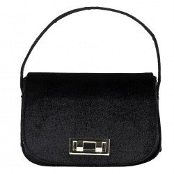 Hand bag, Belina black velvet