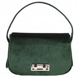 Hand bag, Belina green, velvet