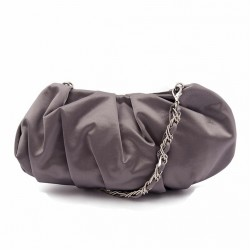 Bag clutch, Ivette Gray, satin