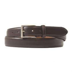 Cintura, Leonardo Marrone, in pelle, classica