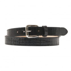 Belt, Brown Black, aged leather, sports