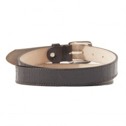 Belt, Brown, Brown, aged leather, sports