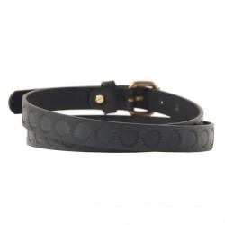 Cinturó Brando de cuir Negre de la impressió, esports