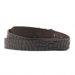 Cinturó de seguretat, Louis Brown, en cuir amb coco imprimir, esports