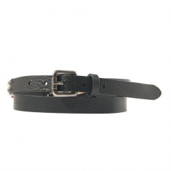 Cinturó de seguretat, Ludo Negre, pell amb ivori insereix, esports