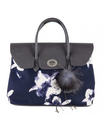 Hand bag, Bridget Blue, faux leather