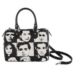 Hand bag, Beatrix Black, fabric