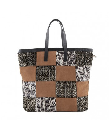 Hand bag, Sophie Brown, fabric