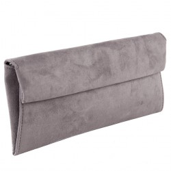 Bag clutch, Esterina Gray, faux leather