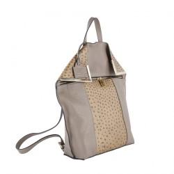 Saco mochila, Filippa Beis, coiro