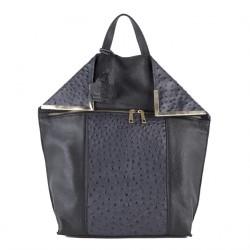 Tasche, rucksack, Filippa Grau, leder