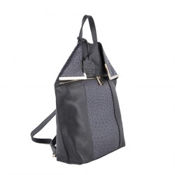 Bag backpack, Philippa Gray, leather
