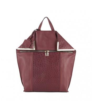 Sac de sac à dos, Filippa Rouge, cuir