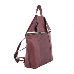 Saco mochila, Filippa Vermello, coiro