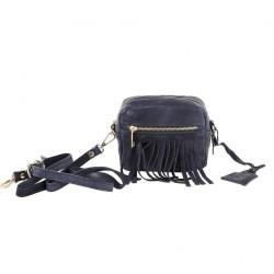 Shoulder bag, Peggie Blue, leather
