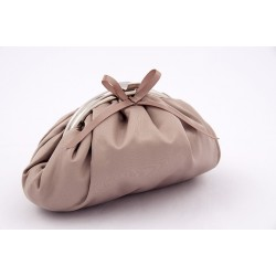 Bag clutch, Paola Champagne, satin