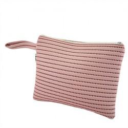 Bag clutch, Lisbon Pink sympatex