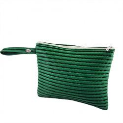 Bag clutch, Lisbon Green, sympatex