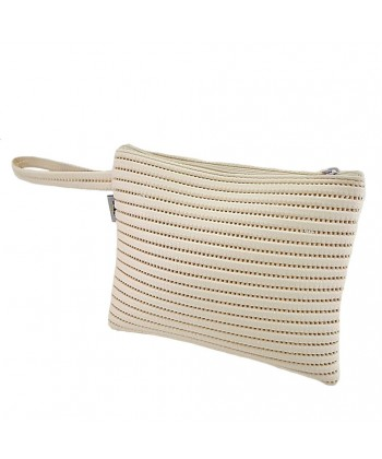 Bag clutch, Lisbon White, sympatex